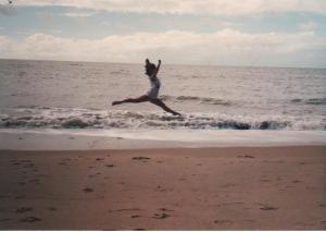 Our gracefulwomanwarrior in Cairns, Australia @1986