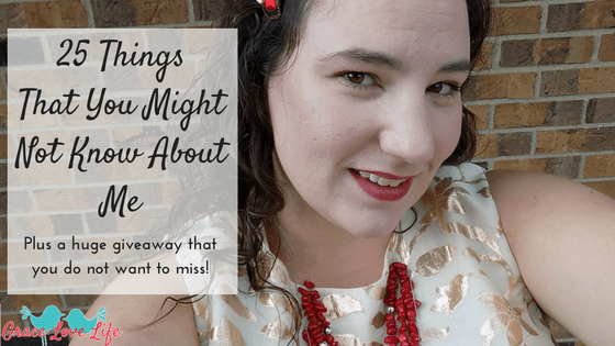 25 Things You Might Not Know About Me