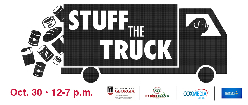 Stuff the Truck\u0027 with Grady College to feed families in need - Grady