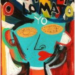 Mi Mata O Lo Mato Yo | 55cm x 70cm | Acrylic, gloss & mixed media on board | 2009