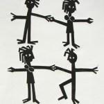 The Couples Dance | 30.5cm x 40.5cm | Linocut | 1996