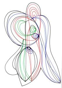 SYNESTHESIA 6   Pen and Ink   Inward Gaze, Outward Focus    21cm X 29.7cm    2015