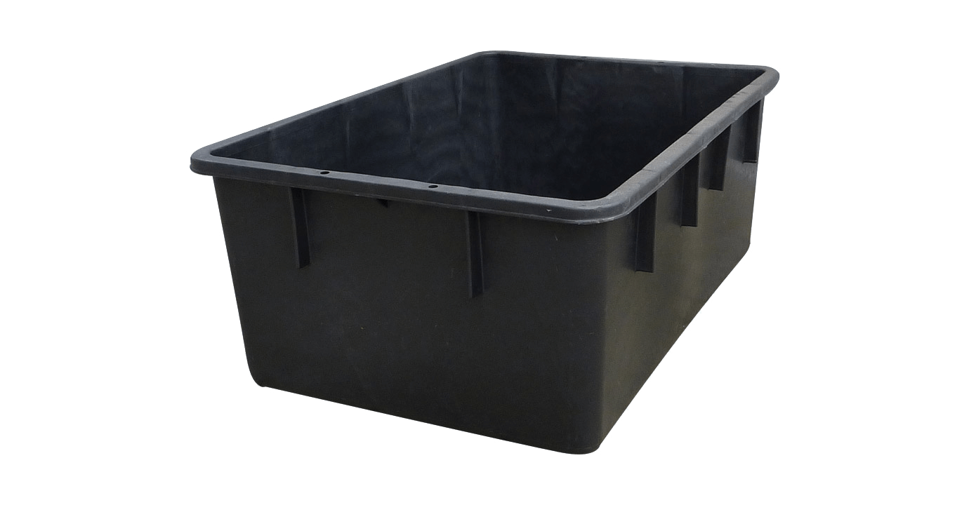 Schwarz Container Rectangular Container Black From Graf