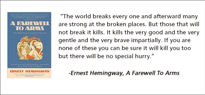 hemingway farewell to arms