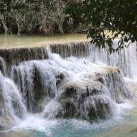KUANG SI FALLS, MOONBEARS AND BUTTERFLIES