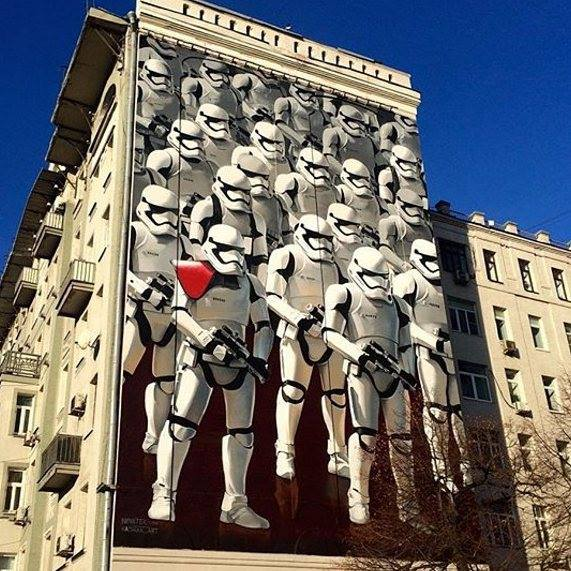 star wars graffiti amp street art from around the world