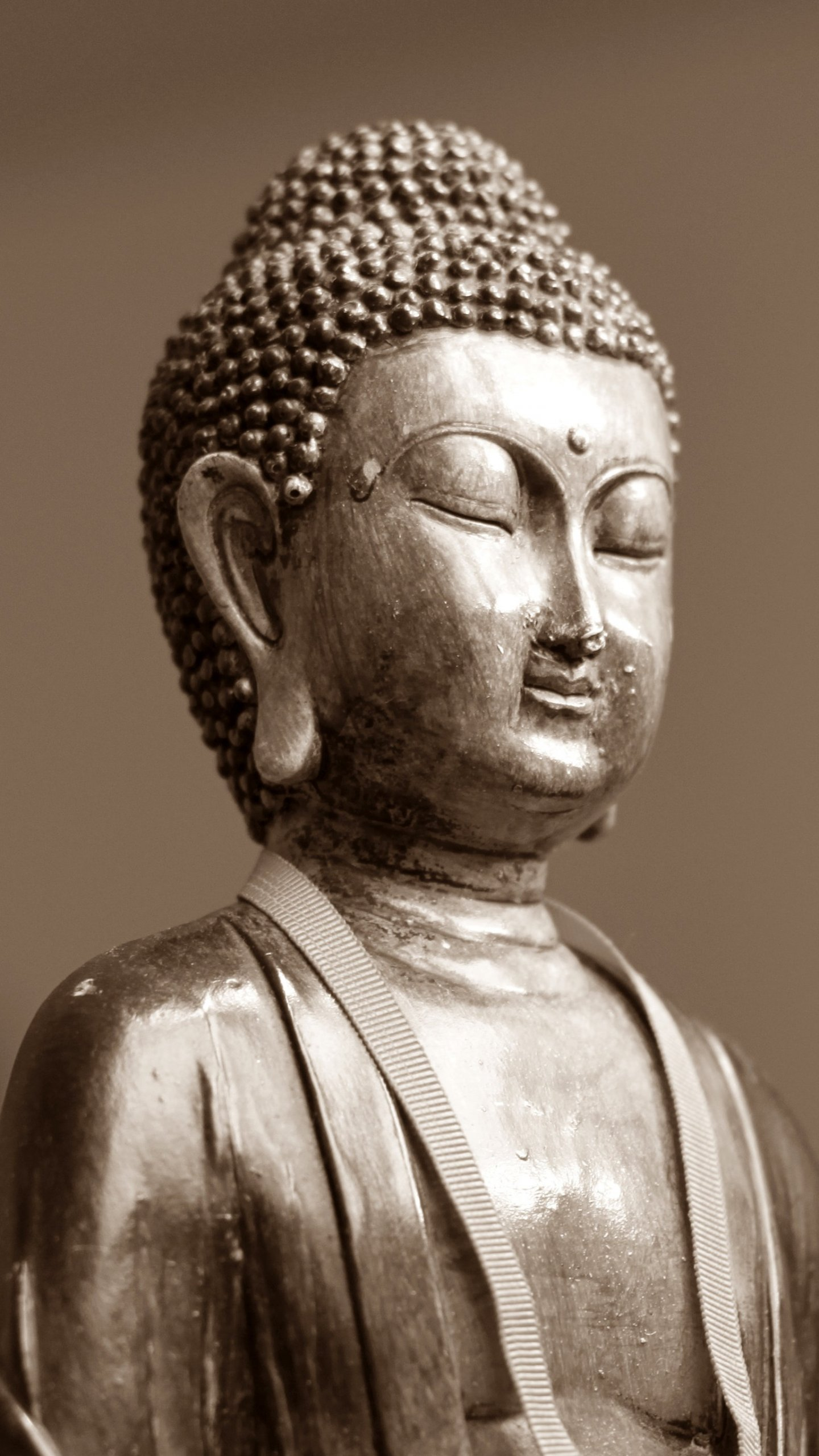 Laughing Buddha Iphone Wallpaper Buddha Statue Wallpaper Iphone Android And Desktop