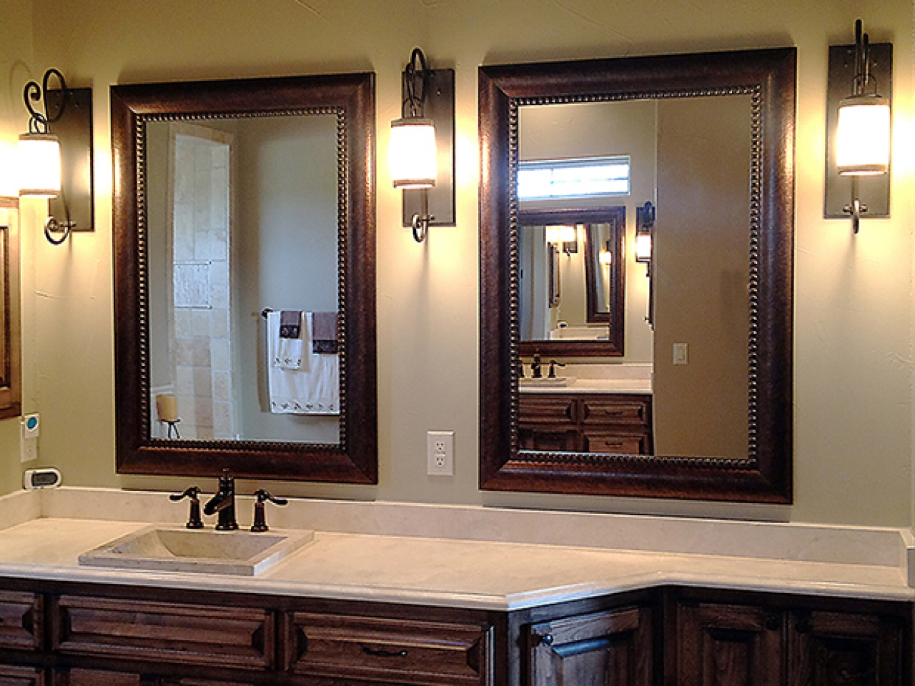 Framed Bathroom Mirrors Also Bathroom Vanity Mirror Also Wood Framed Bath Mirrors Framed Bathroom Mirrors 2 Or 1 Inspiration Home Magazine
