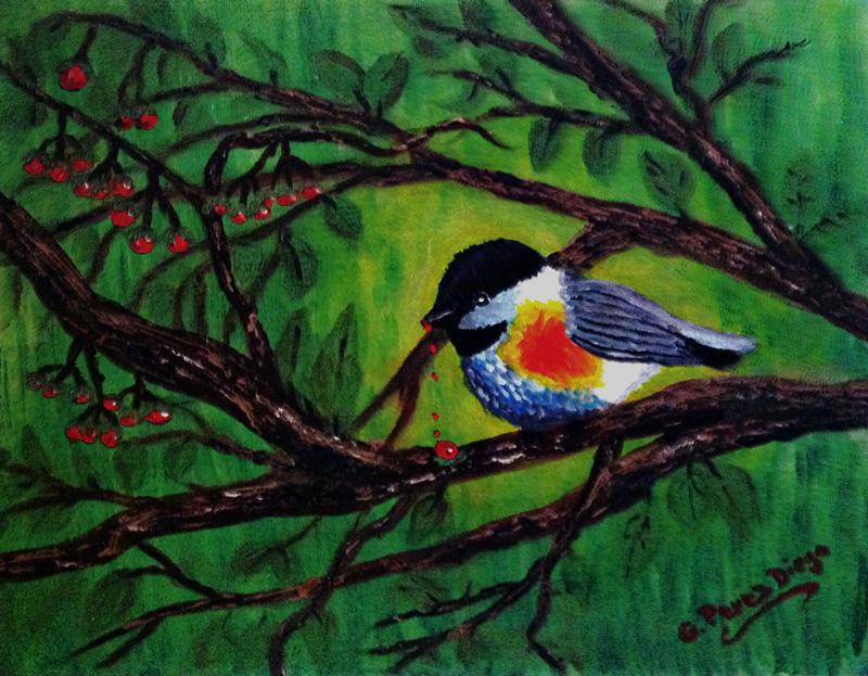 Vogelmahlzeit