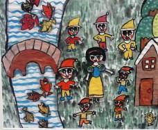 Blancanieves y los siete enanitos. Autor de 10 años