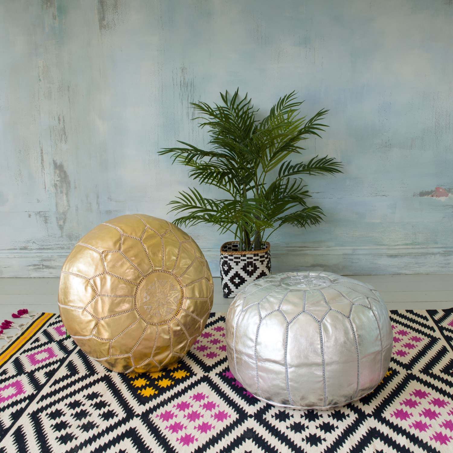 Moroccan Leather Pouf Design Sit Down Pinterest Leather Moroccan Pouffes Graham Green