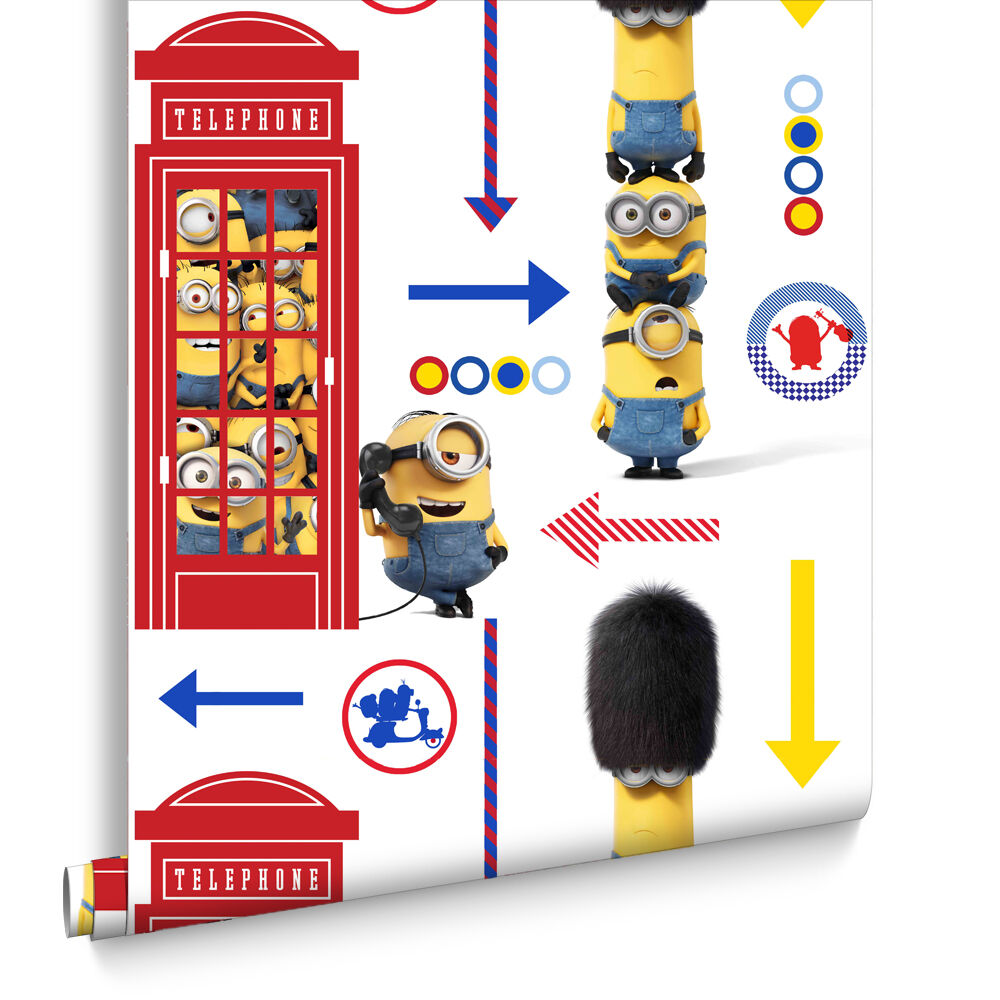 Papier Peint Minions Minions Hello London Wallpaper Grahambrownrow