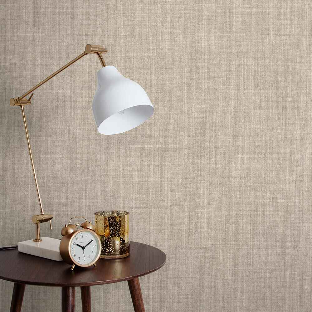 Linen Tapete Beige Neutrale Tapeten Graham Brown