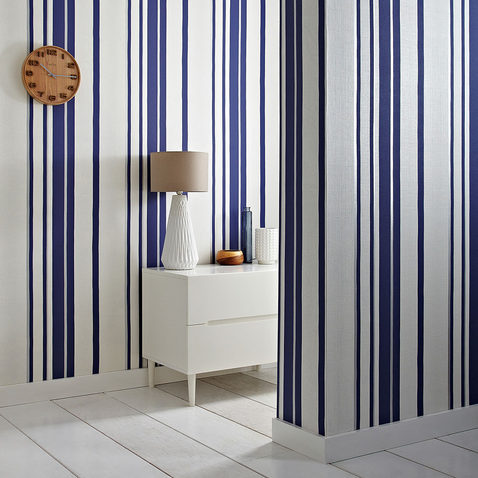 Papier Peint Rayures Larges Striped Wallpaper Vertical Vs Horizontal Graham Brown
