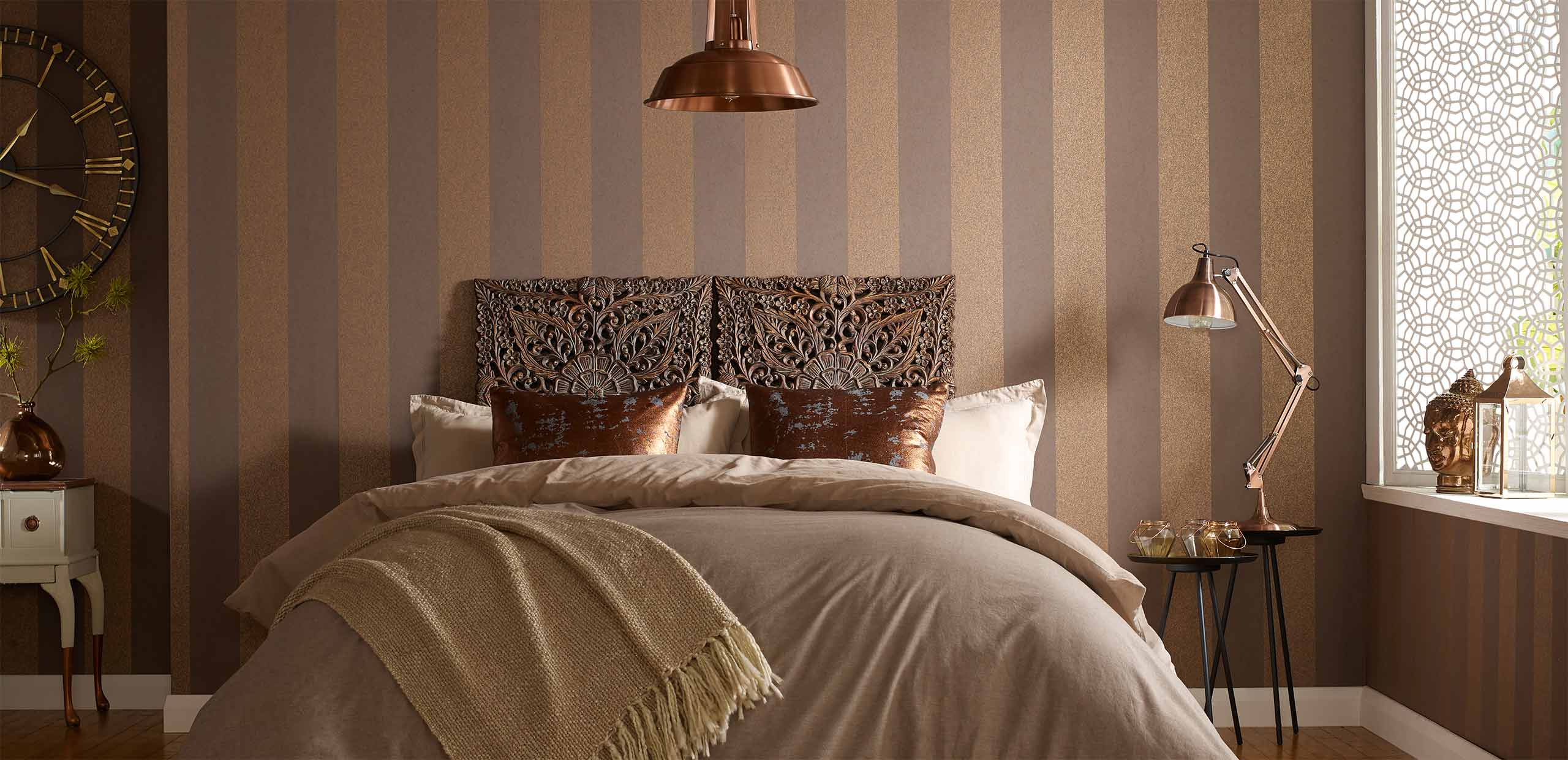 Schlafzimmer Tapezieren Ideen Bedroom Wallpaper | Wall Decor Ideas For Bedrooms
