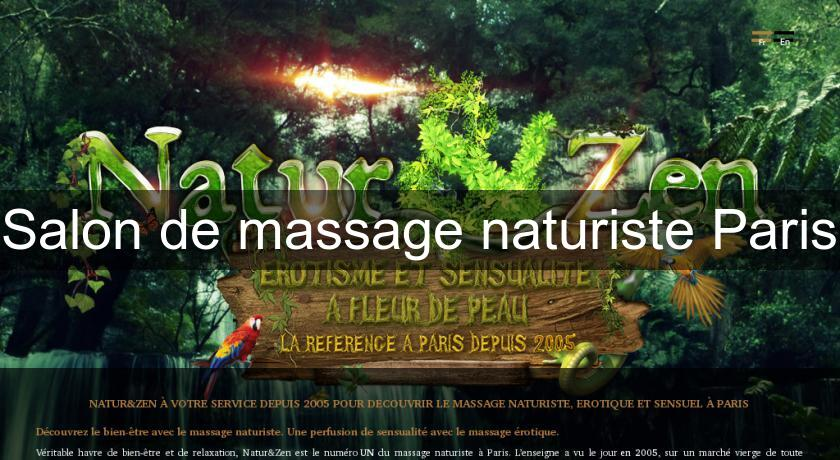 Masseur Naturiste Gay Paris