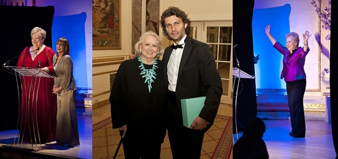 opera awards montage Opera News honours Kaufmann, Racette, Te Kanawa, Terfel and Muti at its 6th edition of the Opera Awards