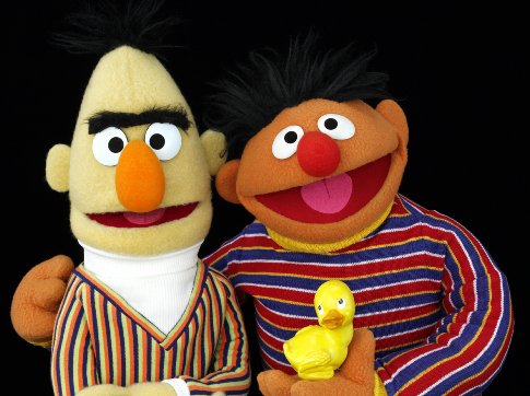 Bert Ernie Sesame Street No Wedding Bells for Sesame Streets Bert and Ernie   theyre just friends