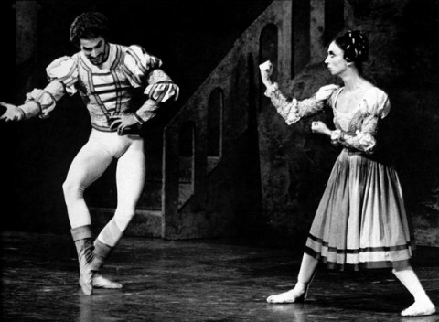 Shrew1 Richard Cragun and Marcia Haydée in John Crankos ballet The Taming of the Shrew
