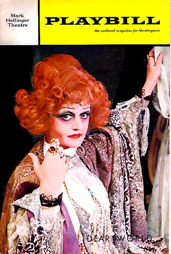Dear World Playbill 1969 Betty Buckley to star in Jerry Hermans Dear World in the West End