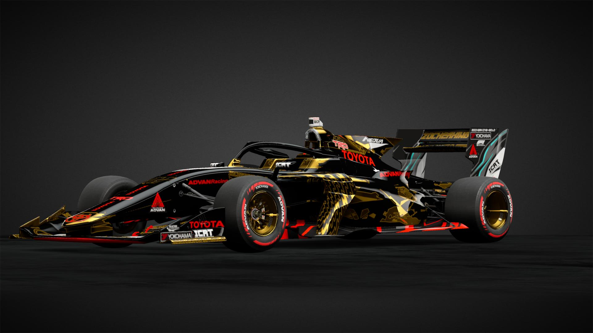 Zkg S Sf19 Super Formula Toyota Car Livery By Zockerking Gold Community Gran Turismo Sport