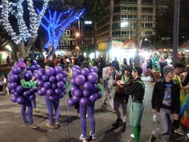 Carnival costume - grapes or balloons?