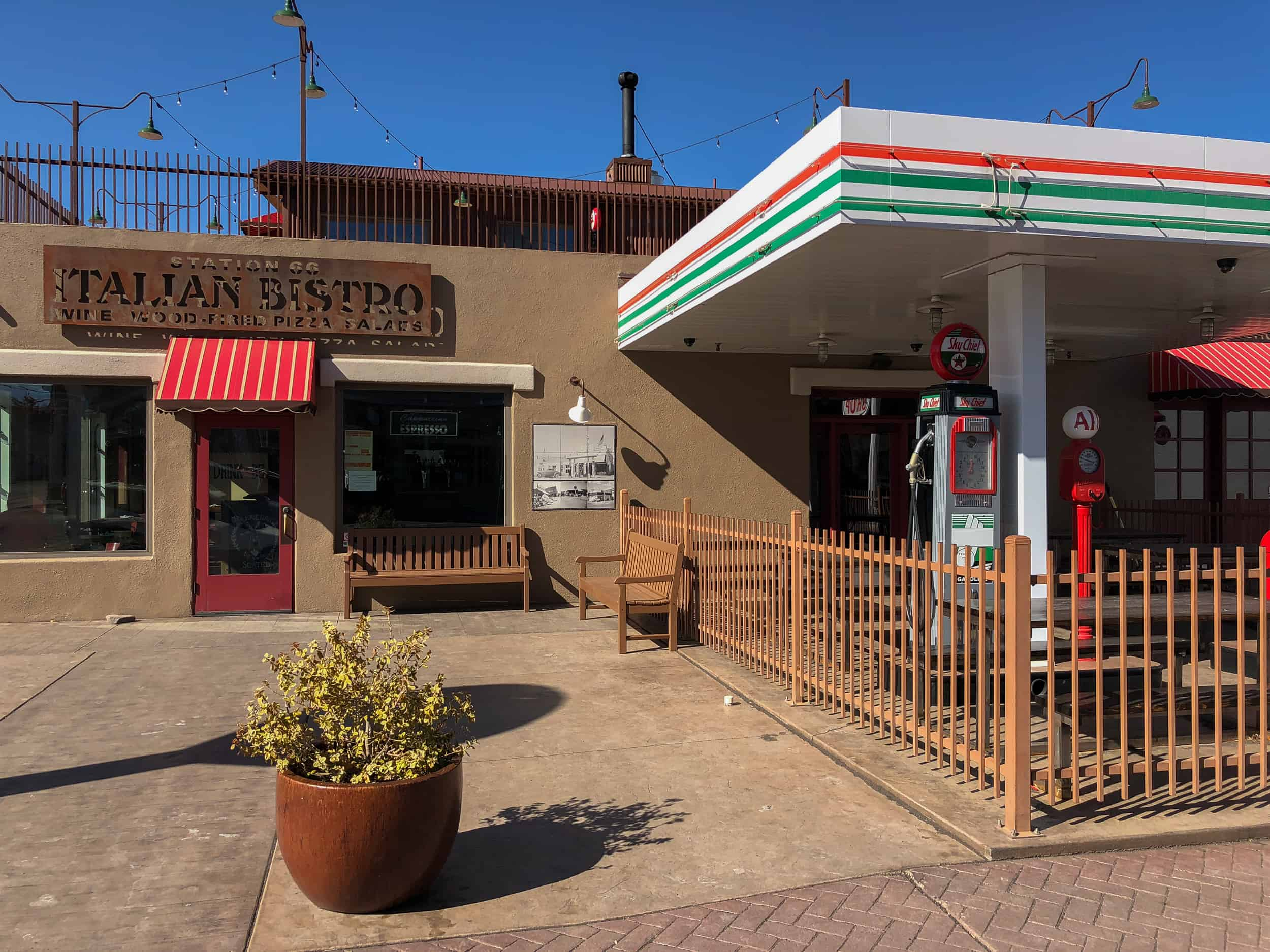 Bistro Italian Restaurant Station 66 Italian Bistro Williams Restaurant Grand Canyon Deals