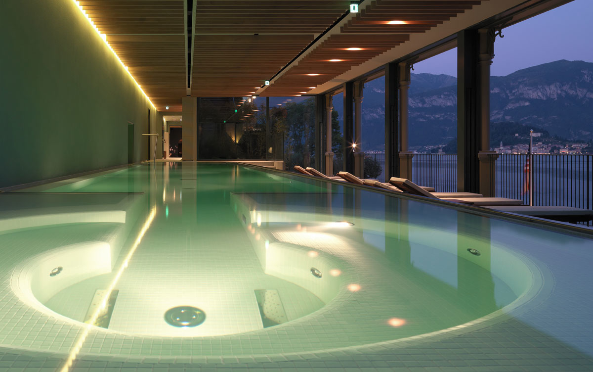 Jacuzzi Pool De T Spa For Couple Romantic Weekend And Treatments On Lake Como