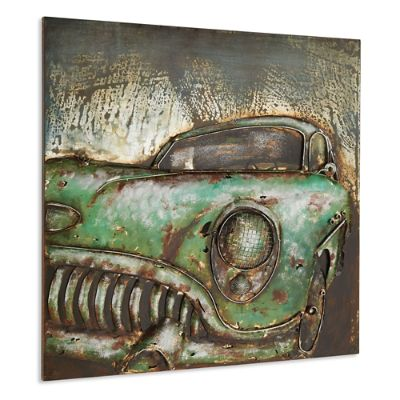 Metal Classic Car Wall Art