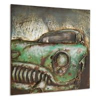 Metal Classic Car Wall Art