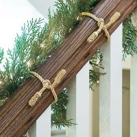 Decorative Garland Ties, Set of Six | Grandin Road