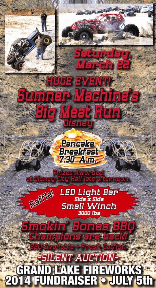 Sumner Machine Big Meat Run 2014