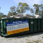 Grand Lake Shoreline Cleanup