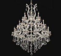 Pisa-Livorno Collection 28 Light Extra-Large Crystal ...