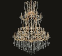 Maria Theresa Collection 85 Light Extra-Large Crystal ...