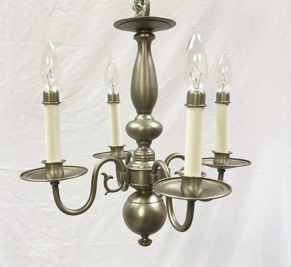 Small Simple Chandelier Jamestown 4 Light Small Vintage Chandelier