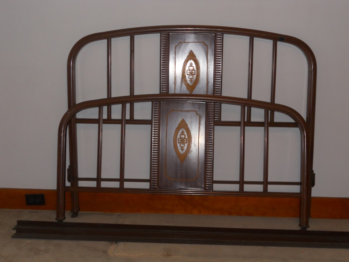 metal furniture antique antique reproduction furniture antiquefurniture antique metal bed frame grandmas estate sale