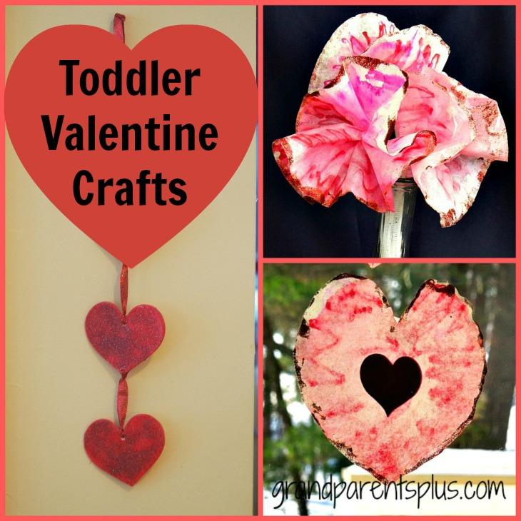 Toddler Valentine Crafts - GrandparentsPlus