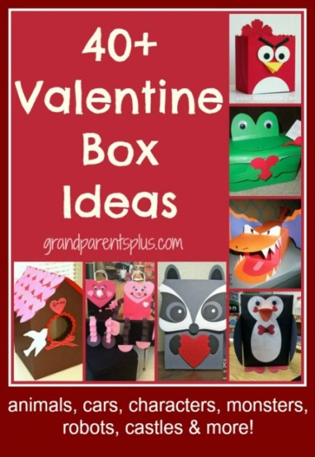40+ Valentine Box Ideas  grandparentsplus.com