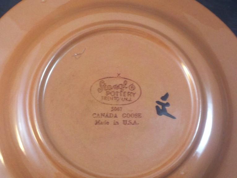 Vintage Stangl Pottery Canada Goose Sportsmen39s Sportsman