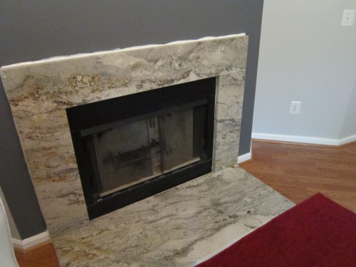Stone Fire Granite On Your Fireplace