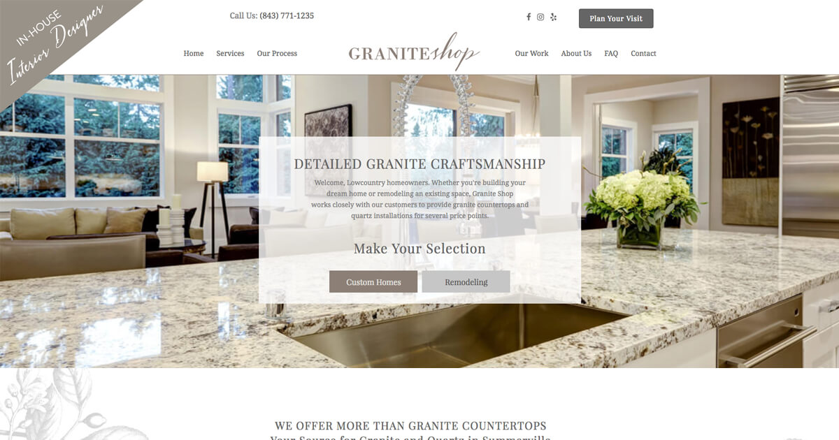 Granite Countertops Summerville Granite Shop 1148 Drop