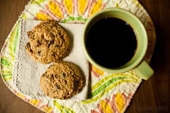 Chocolate Chip Peanut Butter Cookies 8:: Granola Girl Bakes