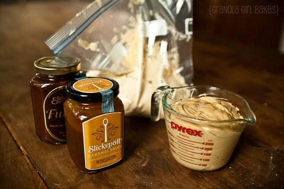 Salted Caramel Mocha Cupcakes :: Granola Girl Bakes 4