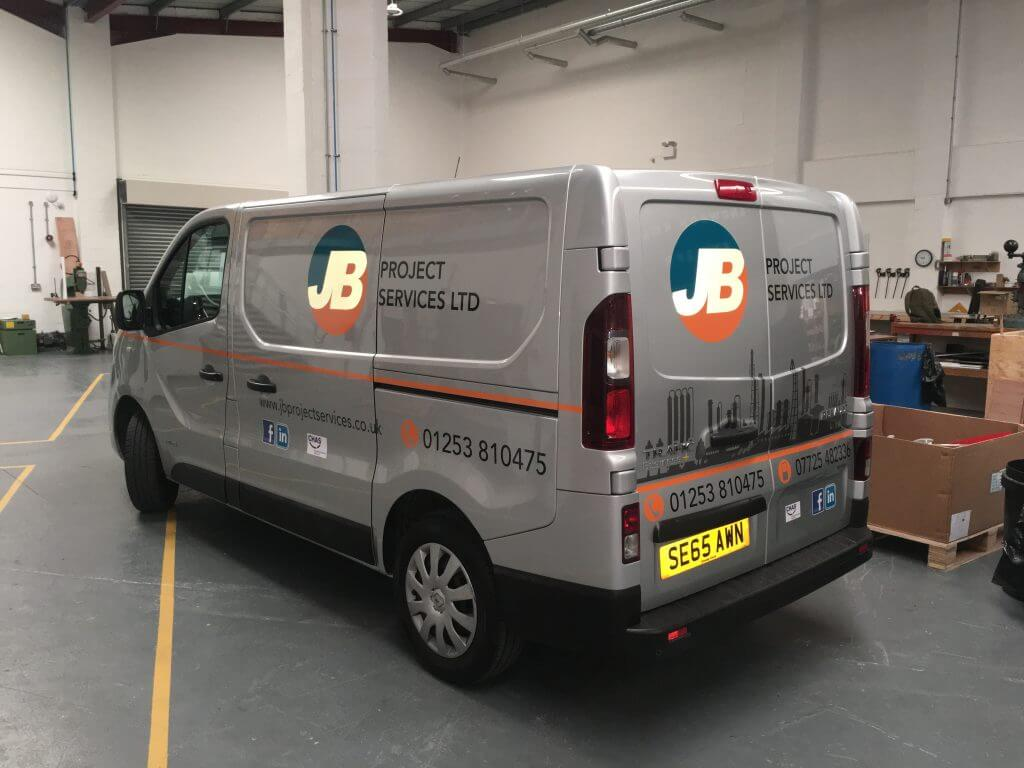 Jb Lighting Service Jb Project Services Dt Granthams Signs And Graphics