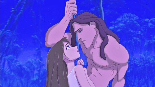 Tarzan displays a level of compassion uncommon for homo sapiens reared ...