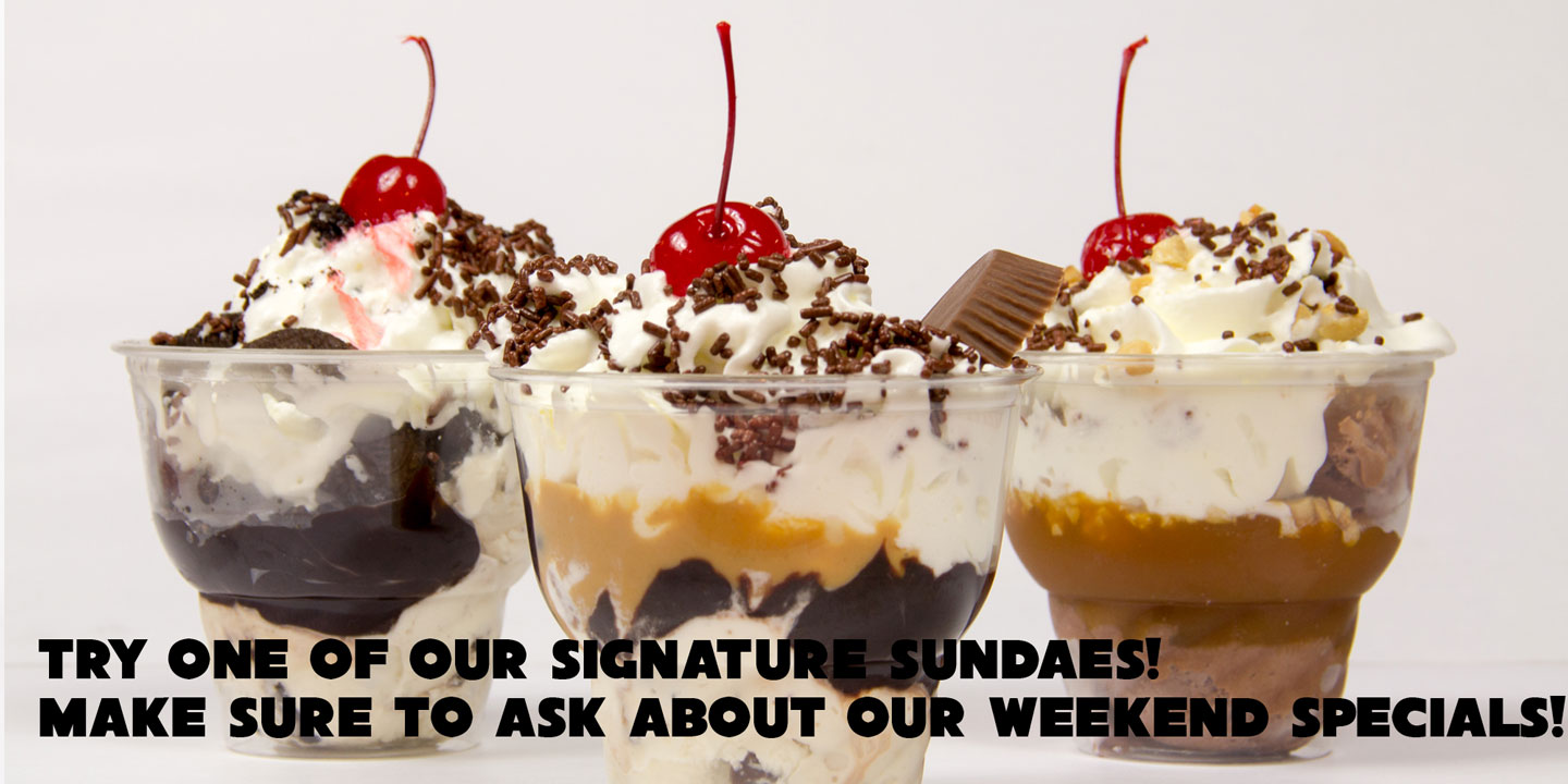 Signature Sundaes