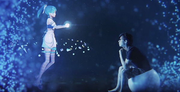 3d Holograms Wallpaper An Anime Hologram Assistant That Lives In Your Room And