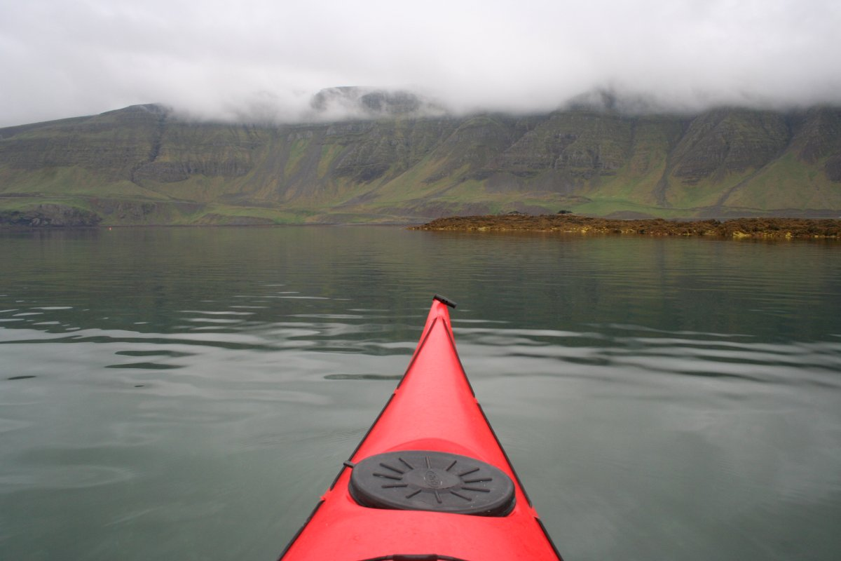 Still Waters And Colourful Jellyfish: Kayaking In Hvalfjörður