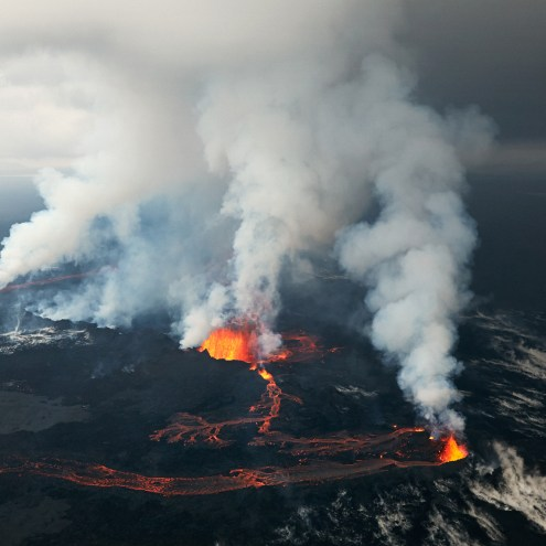 Holuhraun Eruption Photo Gallery